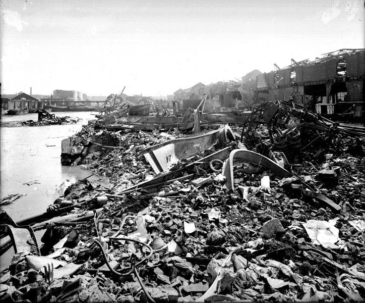 War Damage in Liverpool