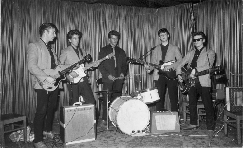 The Beatles at the Indra Club