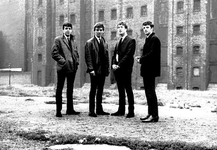 The Beatles in Dublin Street