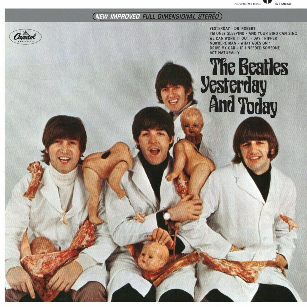 """The famous Beatles """"Butcher"""" Album Cover"""
